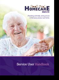 Homecare D&D Ltd Service User Handbook